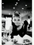 "Audrey Hepburn's Breakfast at Tiffany Movie Poster  (size 24"" by 36"")"