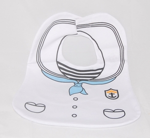 "Baby Bibs - ""Navy"" Novelty (Big Size)"
