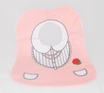 "Baby Bibs - ""Pink Dress"" Novelty (Big Size)"