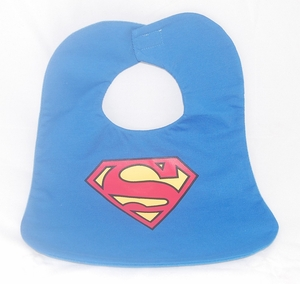 "Baby Bibs - ""Superman"" Novelty (Big Size)"