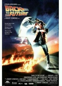 "Back to the Future Movie Poster (size 24"" by 36"")"