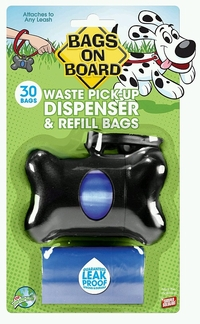 Bags on Board Bone Dispenser (includes 30 Refill Bags)