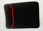 "Balck Laptop Sleeve with Orange Trim (14"" inch)"