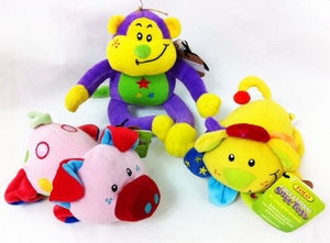'Beanies Animals' Plush Toys (3 Pack). *Clearance Sale*