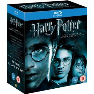 Blu Ray Movie - Harry Potter Complete 8 Film Collection (11 Disc Blu Ray Set)