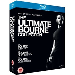 Blu Ray Movie - The Ultimate Bourne Collection