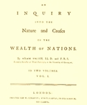 Book - The Wealth of Nations by Adam Smith