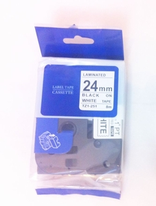 Brother PTouch TZ251 Tape (width 24mm)