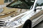 Car Body 'Mirror' Chrome Film Wrap (150m by 30cm)