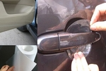 Car Body 'Rhino' Bumper Transparent Protection Film (6m by 20cm)