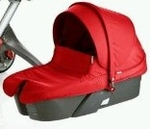 Carrycot for Stokke Xplory Stroller (Red Color)