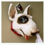 Chiwawa Porcelain Decor Ornament & Novelty Item