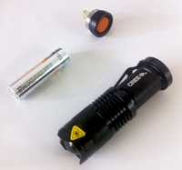 Cree Q5 LED Mini Flashlight 300 lumens