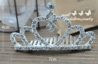Crystal Crown Tiara for Girls