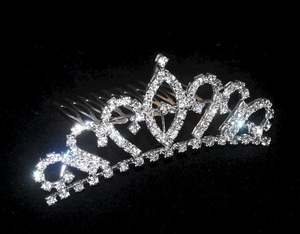 'Crystals Bling' theme Tiara Jewellery