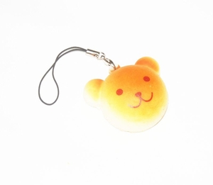 Cuddly Bear 'Bread' Phone Charm (with Pastry Smell)