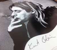 "'Curt Cobain' Art Poster (24"" by 36"")"