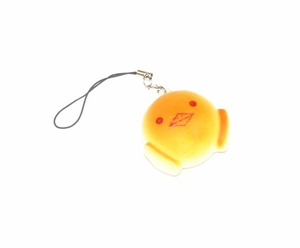 Cute Chick 'Bread' Phone Charm (with Pastry Smell)