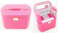 Deluxe Jewelry Box (Large,Pink Color)
