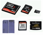 Different Memory Card Formats
