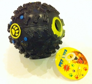 Dog Ball Toy (Roll & Squeak)