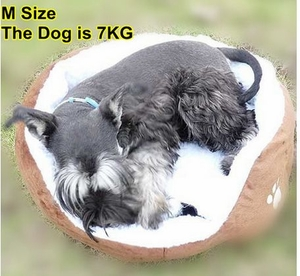 Dog Bed (Size M: 50cm by 40cm)