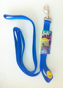 Double Handle 2-Loops Dog Leash (72 inch length)