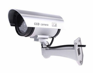 Dummy Outdoor CCD Camera (with Blinking Red Light)