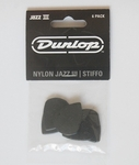 Dunlop Jazz III Stiffo Pick (6 Pack, 1.38mm)