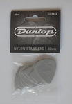 Dunlop's Nylon Standard Guitar Picks (12 pack, 0.60mm)