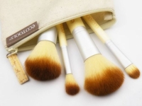 'Ecotools' 4 pcs Bamboo Brush (with carry bag)