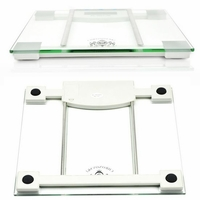 Electronic Body Fat Measurement Scale (safe tempered glass)