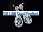 Exquisite Tear Drop Cubic Zirconia (CZ) Earrings