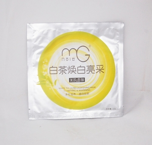 Facial Beauty Mask - White Tea Ultra Lightening Mask (Clarifying & Lightening), Box of 30 Packs