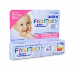 First Teeth Baby Toothpaste with Active Milk Enzymes