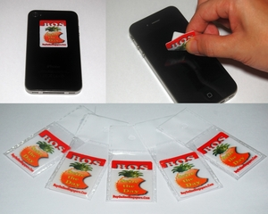Free Promotional Gifts - BOS Phone Sticker Cleaners (made from quality Microfibre & Silicone)