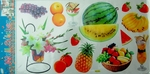 Fresh Fruits Kitchen Theme - PVC Wall Decal Sticker
