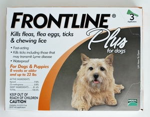 Frontline Plus for Dogs under 10kg