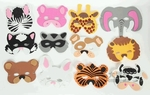 Fun Animals Kid Masks (Set of 12 EVA Foam Masks)