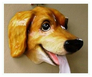Golden Retriever Porcelain Decor Ornament & Novelty Item