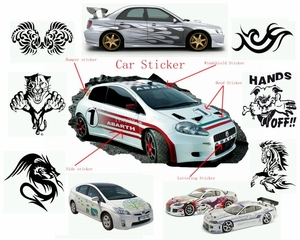 Guide to Car Decals & Stickers