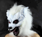 Halloween Mask - White Werewolf Mask