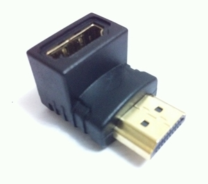 HDMI 90 degree Adaptor (use to conveniently redirect inputs)