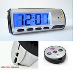 Hidden Spy Camera Digital Clock