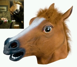 Horse Head Mask by Accoutrements (color Brown)