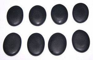 Hot Stone Massage Basalt Rocks (8 pieces Spa Set)