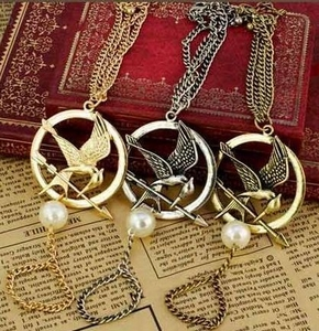 Hunger Games Mockingjay Bracelet (Gold, Bronze or Silver)