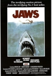 "'JAWS' Classic Movie Poster (24"" by 36"")"