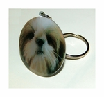 Key Chain of Cute Shih Tzu Dog Breed