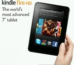 "Kindle Fire HD 7"" (dualband Wifi only, 16GB)"